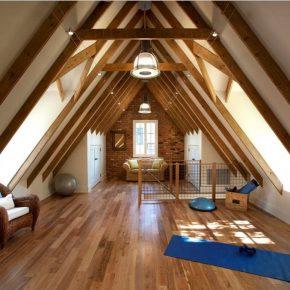 Мансардный этаж: как спроектировать и построить своими руками мансарду