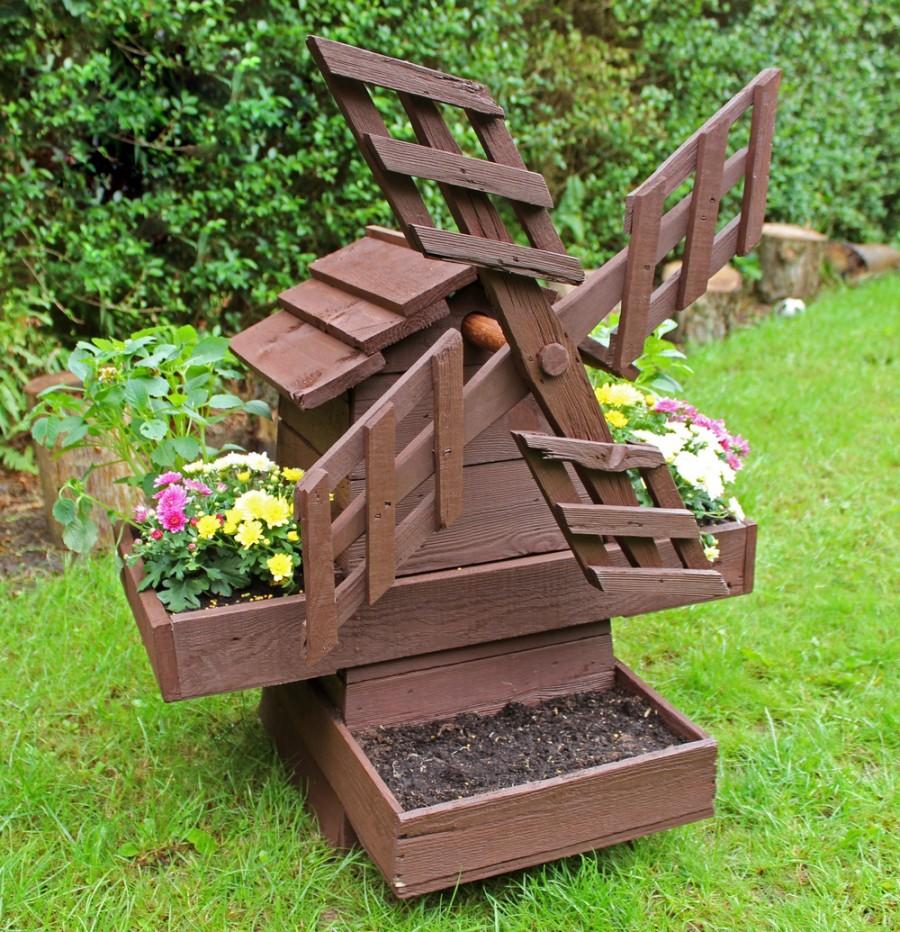 Новинки поделок для дачи сада огорода