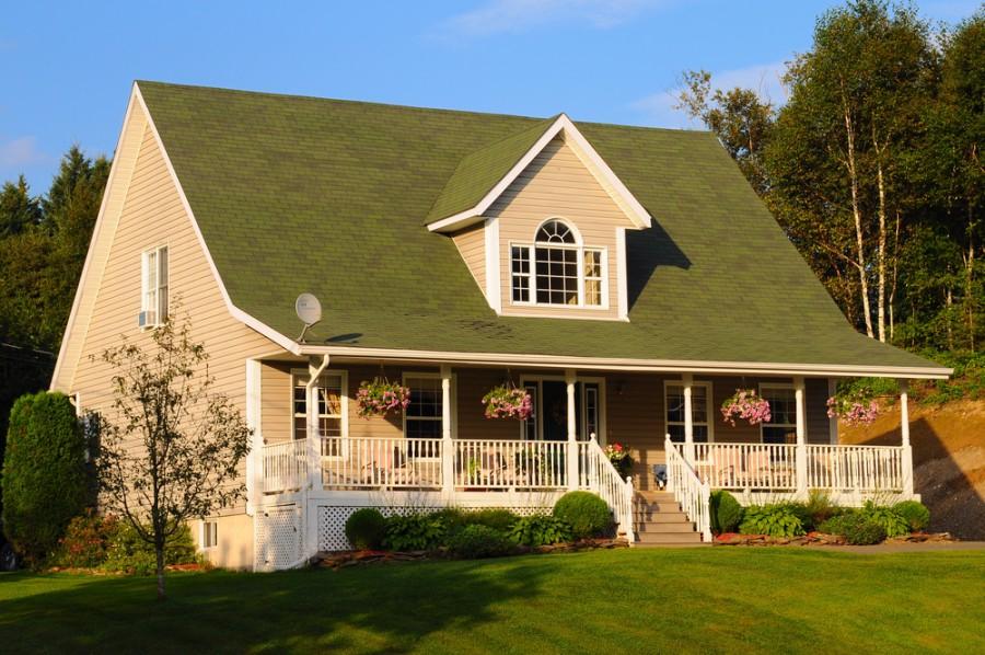 Крыши домов разновидности фото двухскатка