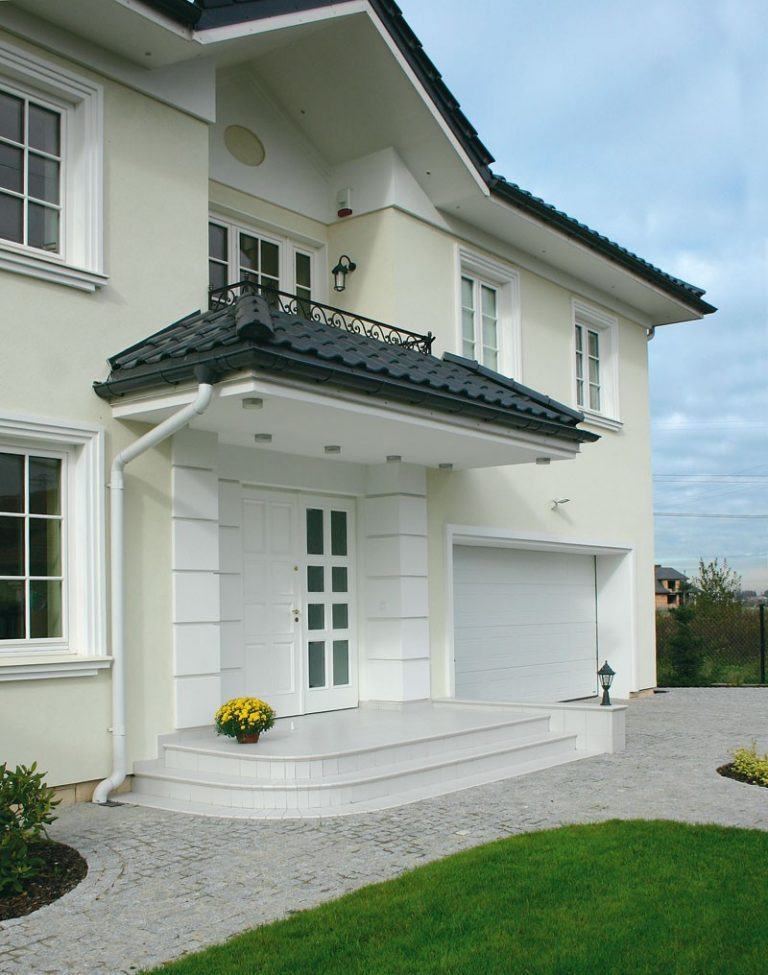 штукатурные фасады домов фото