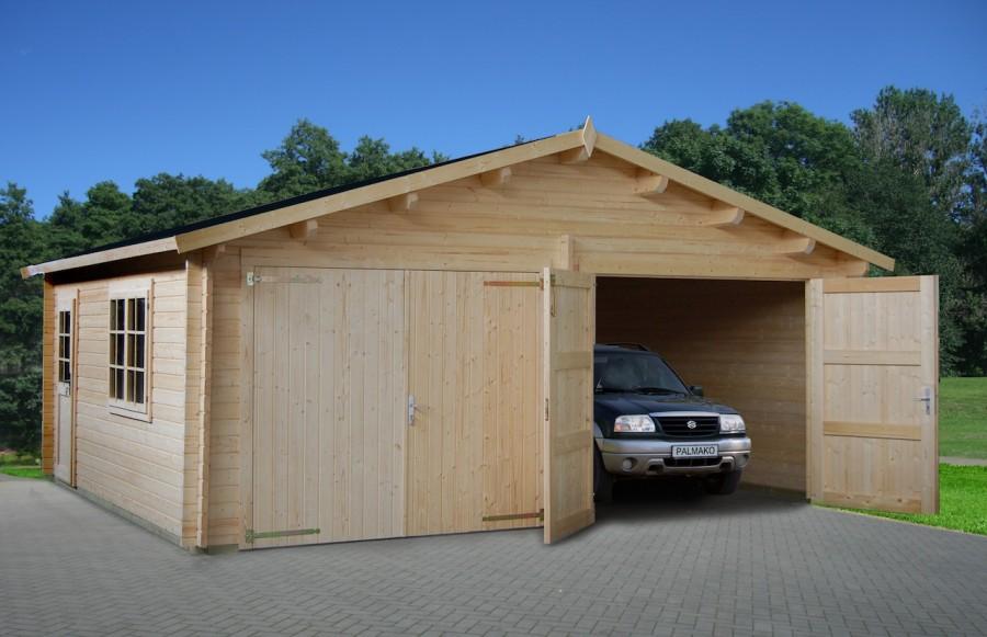 Как построить гараж своими руками