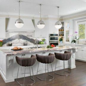 Кухня в частном доме: лучшие идеи, советы по обустройству и планировка дизайна интерьера (105 фото)