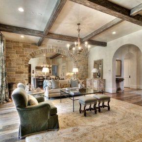 Потолок с балками – современные дизайнерские решения, идеи декора и варианты оформления
