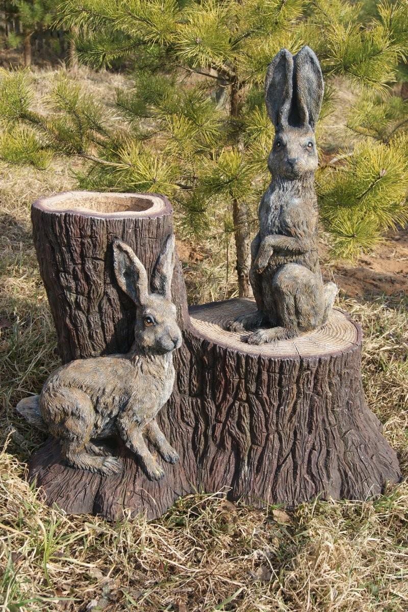 Скульптура для сада из гипса