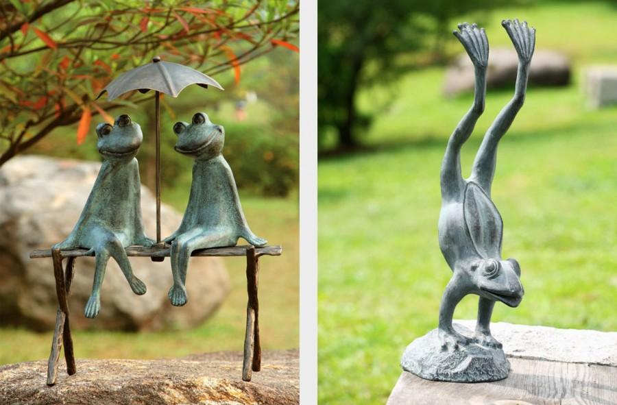 Как сделать скульптура для сада