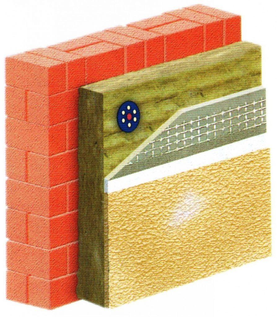 устройство мокрых фасадов