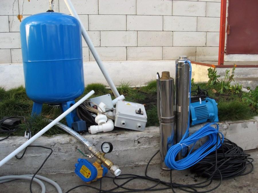 Водопровод на даче своими руками из колодца