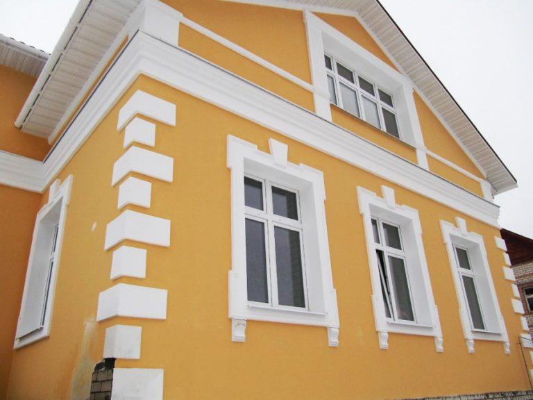 Фото покраска домов сверху