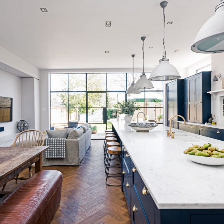 длинная кухня гостиная фото консервативные родители