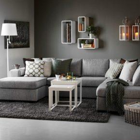 Серый интерьер – варианты оформления и оптимальные сочетания цветов и оттенков