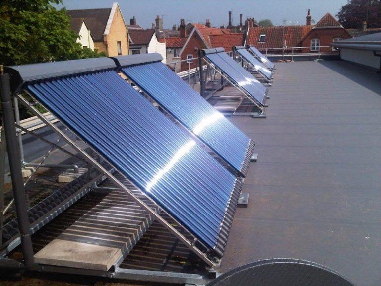вакуумный солнечный коллектор для отопления дома